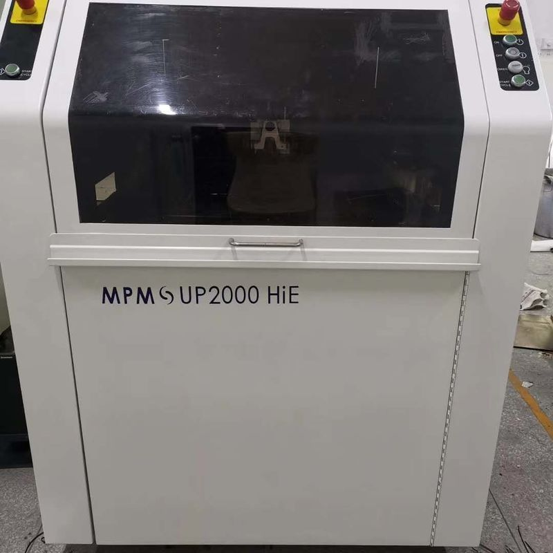 Mpm Up2000hie SMT Screen Printer PLC And Touch Screen Controlling